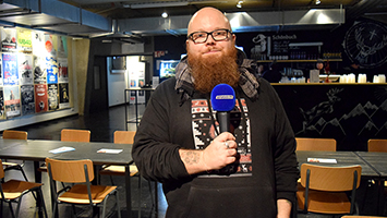 Andreas Kümmert im Interview bei STUGGI.TV. Foto: STUGGI.TV/Goes