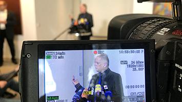 """OB Kuhn zum Urteil über Diesel-Fahrverbote: """"Blamage für den Gesetzgeber"""". (Foto: STUGGI.TV/Goes)"""