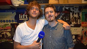 Nachwuchsband Kytes im Interview. Foto: Schönberger/STUGGI.TV