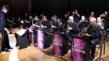 LE Bigband produziert Weihnachts-CD. Foto: Frank/STUGGI.TV