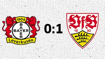 Bayer Leverkusen - VfB Stuttgart 0:1 (Fotografik: STUGGI.TV)