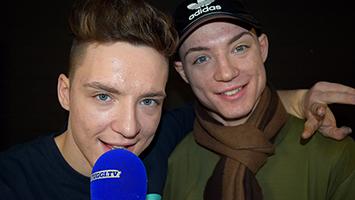 Die Lochis im Interview. Heiko Lochmann und Roman Lochmann. Foto: STUGGI.TV/Frank