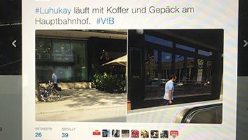 Das sagen die VfB-Fans zum Luhukay-Rücktritt (Screenshot Twitter)