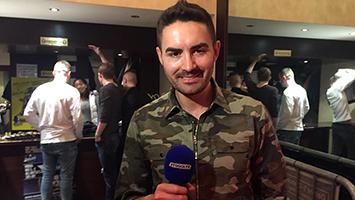 Dschungelkönig Menderes im Interview. Foto: Goes/STUGGI.TV