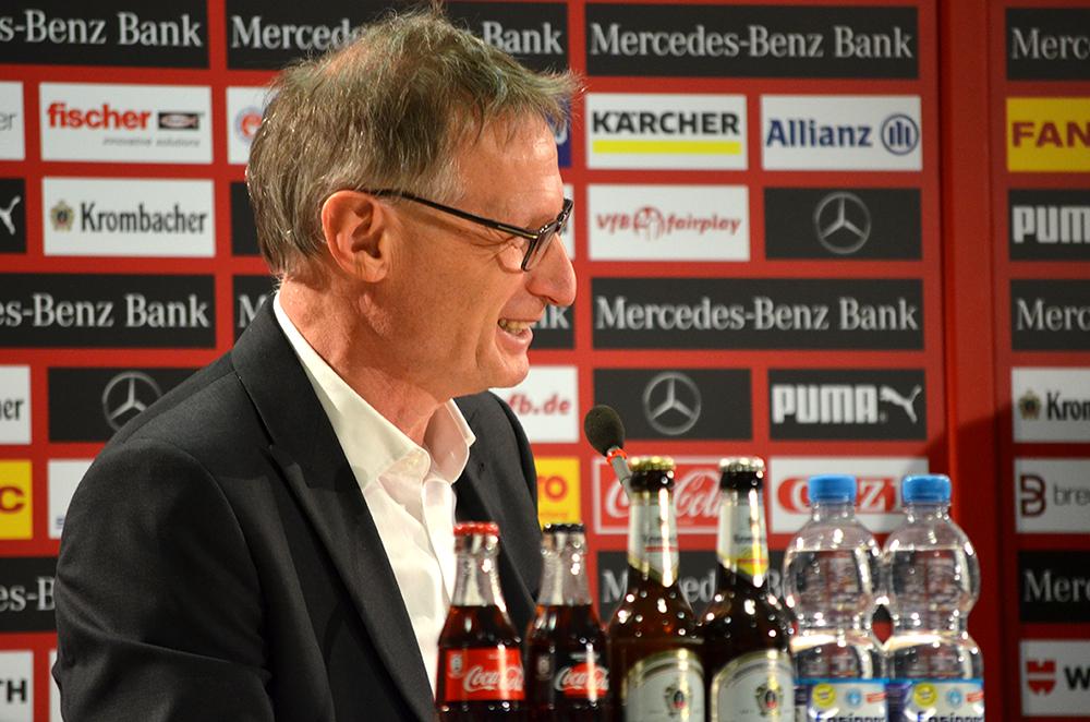 Michael Reschke, Vorstand Sport VfB Stuttgart. (Foto: STUGGI.TV)