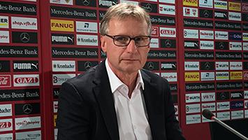 Der neue Sportvorstand des VfB Stuttgart: Michael Reschke. (Foto: STUGGI.TV/Rau).