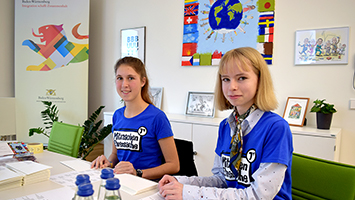 Wir waren beim Schüler-Aktionstag Mitmachen Ehrensache vor Ort. (Foto: STUGGI.TV)