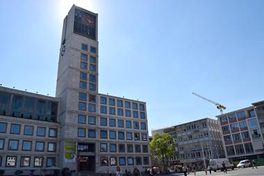 Marktplatz in Stuttgart-Mitte, Foto: STUGGI.TV/grimmer