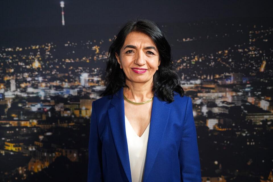 """Landtagspräsidentin Muhterem Aras (Grüne): """"Wollen alle vier Direktmandate in Stuttgart holen"""""""
