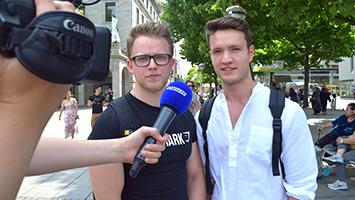 Was halten die Stuttgarter vom kostenlosen Museums-Eintritt? Wir haben auf der Königstraße nachgefragt. (Foto: STUGGI.TV)