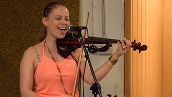 Auch die Band Vona Bunt steht beim New Band Festival des Jugendrat auf der Bühne. Foto: STUGGI.TV/Goes