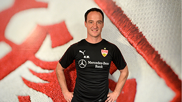 """Der VfB Stuttgart stellt Trainer Nico Willig vor: """"Müssen das Rennen gewinnen"""" (Foto: STUGGI.TV)"""