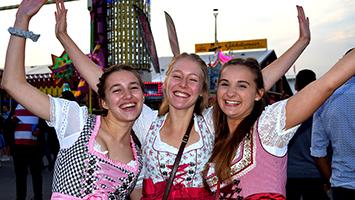 OB Fritz Kuhn hat das 200. Cannstatter Volksfest auf dem Wasen eröffnet. (Foto: STUGGI.TV)
