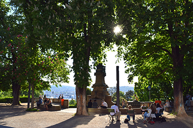 Eugensplatz in Stuttgart-Ost, Foto: STUGGI.TV/grimmer