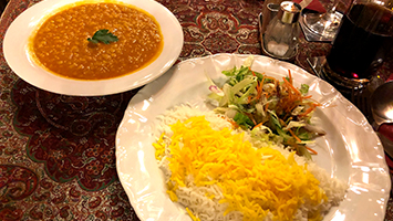 Wir haben das Persian Restaurant am Charlottenplatz in Stuttgart im Food-Check getestet. (Foto: STUGGI.TV)