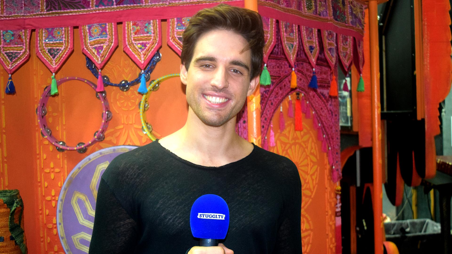 """Wir haben """"Stuttgarts Aladdin"""" Philipp Büttner zum Interview im SI-Centrum getroffen. (Foto: STUGGI.TV)"""