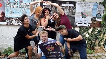 """Die Queerdenker Stuttgart veranstalten das """"Open Mind Festival"""" in Stuttgart mit dem Open Mic Event im Kulturzentrum Merlin Stuttgart. (Foto: STUGGI.TV)"""