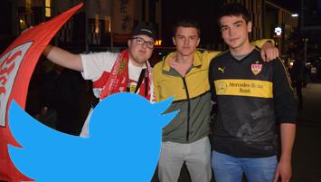 Relegation Fans Twitter-Stimmen. Foto STUGGI.TV