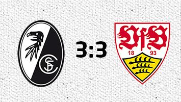 SC Freiburg - VfB Stuttgart 3:3 (Fotografik: STUGGI.TV)