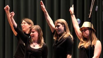 Tag der Frauenstimme am 4. März 2017 vom Schwäbischen Chorverband im SpOrt Stuttgart. (Fotos: SCV)