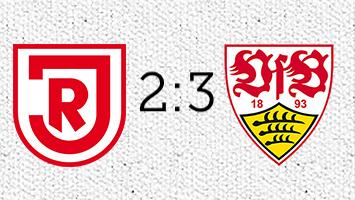 Jahn Regensburg - VfB Stuttgart 2:3 (Fotografik: STUGGI.TV)