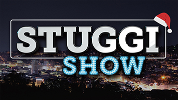 Die Weihnachtsshow von STUGGI.TV präsentiert von Chefredakteur David Rau (Fotografik: STUGGI.TV)