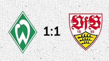 Werder Bremen - VfB Stuttgart 1:1 (Fotografik: STUGGI.TV)