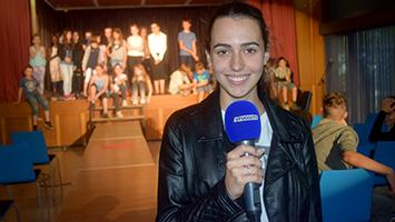 Die Schultour im Pfarrwiesengymnasium in Sindelfingen. (Foto: STUGGI.TV)