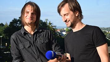 Thomas und Johannes von Silbermond im Interview. Foto: STUGGI.TV/Frank