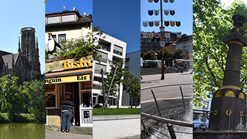 Stuttgarter Stadtteile, Fotocollage: STUGGI.TV/grimmer