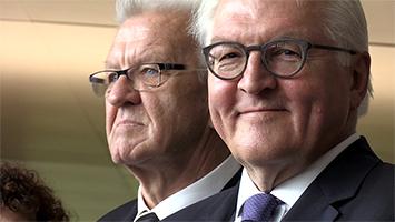 Bundespräsident Frank-Walter Steinmeier zu Besuch in Stuttgart. Foto: STUGGI.TV/Goes