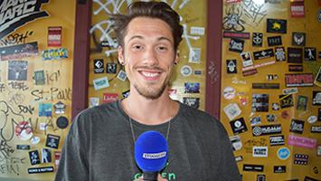 Wir haben Rapper Greeen zum STUGGI.TV TRIFFT-Interview empfangen. (Foto: STUGGI.TV)