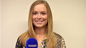 Wir haben die Polizistin und Miss Baden-Württemberg 2019 Nadine Berneis zum TRIFFT-Interview empfangen. (Foto: STUGGI.TV)