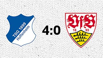1899 Hoffenheim - VfB Stuttgart 4:0 (Fotografik: STUGGI.TV)