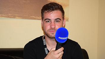Christoph T-Zon Thesen im Interview. Foto: Goes/STUGGI.TV