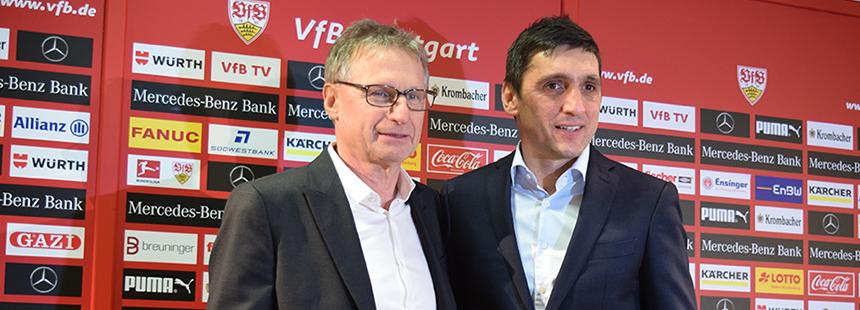 Der neue VfB-Trainer Tayfun Korkut. (Foto: STUGGI.TV)