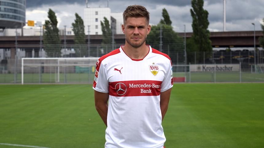 VfB-Spieler Simon Terodde (Foto: STUGGI.TV/Goes)