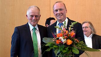 Thomas Fuhrmann von der CDU ist der neue Finanz-Bürgermeister für Stuttgart (Foto: STUGGI.TV/Rückle)