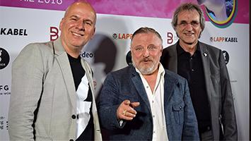 Axel Prahl beim 25. Internationalen Trickfilmfestival 2018 in Stuttgart (Foto: STUGGI.TV)