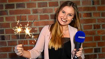 Wir bedanken uns für das Zuschauen bei STUGGI.TV im Jahr 2018 und freuen uns auf das neue Jahr 2019. In der Abschluss-Sendung übernimmt die Moderation Lena Wagner (Foto: STUGGI.TV)