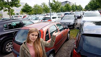 Die Parkplätze an der Hochschule der Medien und der Universität Stuttgart sollen gebührenpflichtig werden. (Foto: STUGGI.TV/Rau)