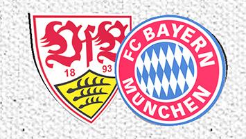 Der VfB Stuttgart spielt am kommenden Samstag, 1.9. gegen den FC Bayern München. (Grafik: STUGGI.TV)