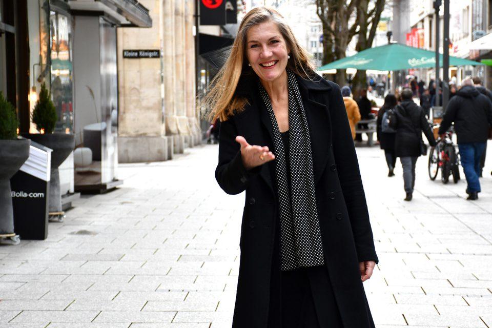 Veronika Kienzle: Wird sie die erste Oberbürgermeisterin in Stuttgart?