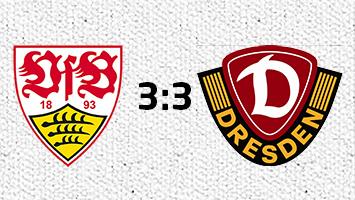 VfB Stuttgart - Dynamo Dresden 3:3 (Fotografik: STUGGI.TV)
