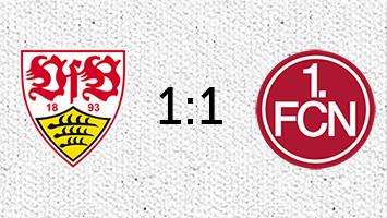 VfB Stuttgart - 1. FC Nürnberg 1:1 (Fotografik: STUGGI.TV)