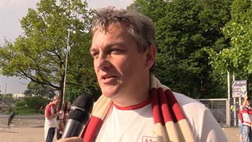 Das sagen die VfB-Fans zum Fast-Aufstieg nach der 0:1-Pleite bei Hannover 96 (Foto: STUGGI.TV)