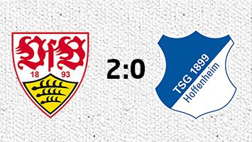 VfB Stuttgart - 1899 Hoffenheim 2:0 (Fotografik: STUGGI.TV)