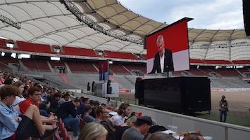 VfB-Präsident Wolfgang Dietrich bei der Mitgliederversammlung 2019 in der Mercedes-Benz-Arena. (Foto: STUGGI.TV)