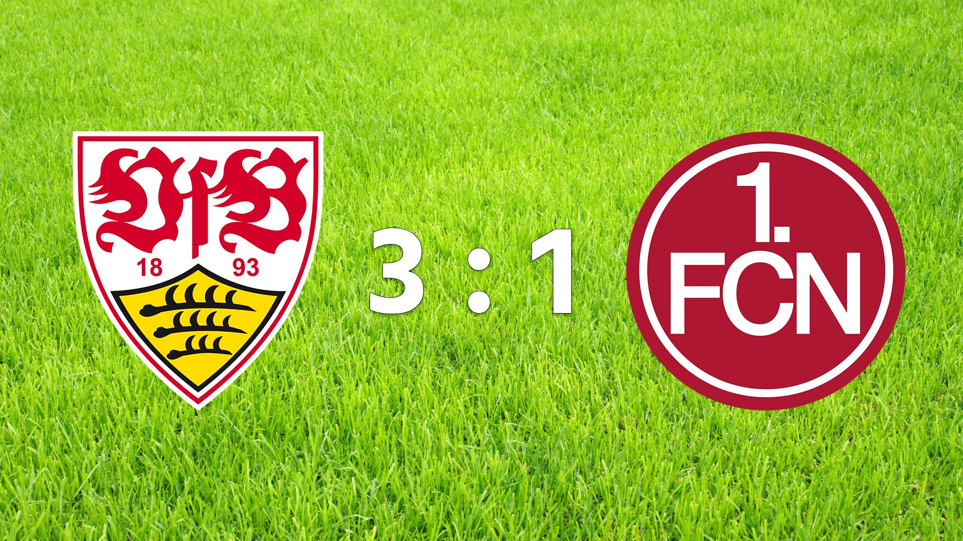 VfB Stuttgart - 1. FC Nürnberg 3:1 (Fotografik: STUGGI.TV)