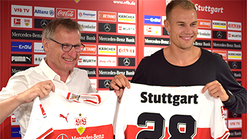 VfB-PK: Holger Babstuber bleibt, Nicolas Gonzales soll kommen (Foto: STUGGI.TV)